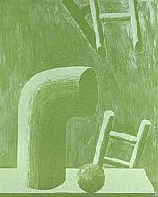 Antes, HorstGrünes Stilleben. 1976. Lithographie