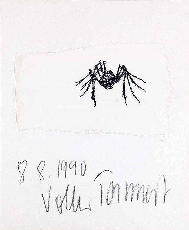 Tannert, VolkerSpinne. 1990. Collagierte