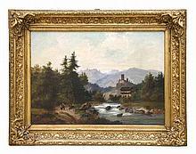 Künstler des 19. JahrhundertLandschaft mit