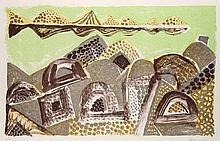 Bargheer, EduardDer Niger. 1966. Farblithographie