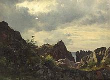 Aagaard, Carl FrederikLandschaft mit Klippen