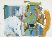 Roth, Dieter o.T. 1975/81. Acryl, Graphitstift, Mi…