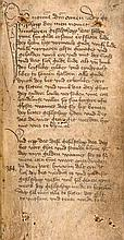 Junchere geselschopp. Niederdeutsche Handschrift