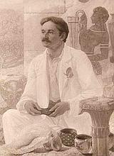 Hollyer, Frederick Portrait des Arthur J. Evans