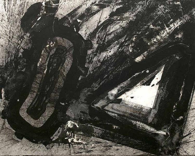 Morgner, Michael o.T. (Figur im Raum). 1994.