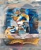 Kiessling, Heinz  o.T. (Kosmische Impression). 1986. Mischtechnik auf Papier. 62 x 49 cm. Signiert und datiert. - An den Kanten unter Passepartout montiert. Verso mit Atelierspuren versehen., Heinz Kiessling, Click for value