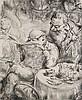 Weber, A. Paul  Das Allerneueste. 1970. Lithographie. 42,3 x 34 cm. Signiert und mit dem Künstlerstempel versehen., A. Paul Weber, Click for value