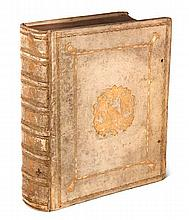 Claudianus, Claudius Opera, Quae Exstant, Omnia: ad membranarum veterum fidem castigata... Mit Titelseite in Rot- und Schwarzdruck, 1 Holzschnitt TVignette u. Holzschnitt Buchschmuck. Amsterdam, Schoutenian, 1760. 2 Bll., 31 S., 6 Bll., XXXII., 2