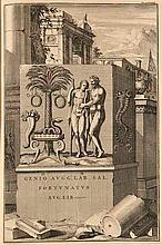 (Nartow, Andre van) Antiquitates sacrae & civiles Romanorum explicatae. Sive comentari historici, mythologici, philologici, .... Autore M. A. V. N. Mit gestoch. Frontispiz, 1 (von 2) gestoch. Portrait, 4 Textkupfern und 80 (von 82) Kupfertafeln.