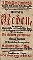 Rambach, Johann Jacob Auserlesene Reden über