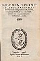 Plinius Secundus Naturalis historiae libri