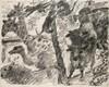 Corinth, Lovis Konvolut aus 3 Blättern der Folge