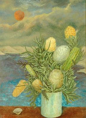 DAVID STRACHAN (1919 - 1970) Still Life with