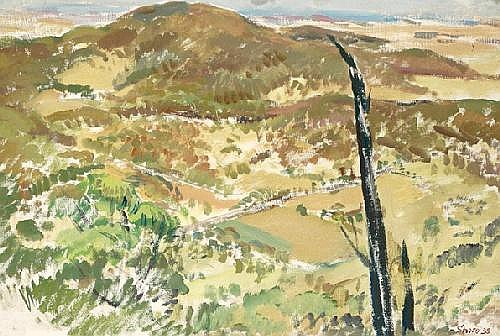 ARNOLD SHORE (1897 - 1963) Back to Melbourne, View