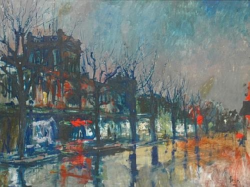 CHARLES BUSH (1919 - 1989) Exhibition Street at