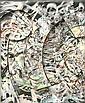 ASHER BILU Born 1936 Untitled 1974 Mixed media on, Asher Bilu, Click for value