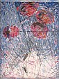GODFREY CLIVE MILLER 1893-1964 Flowers Oil on, Godfrey Miller, Click for value