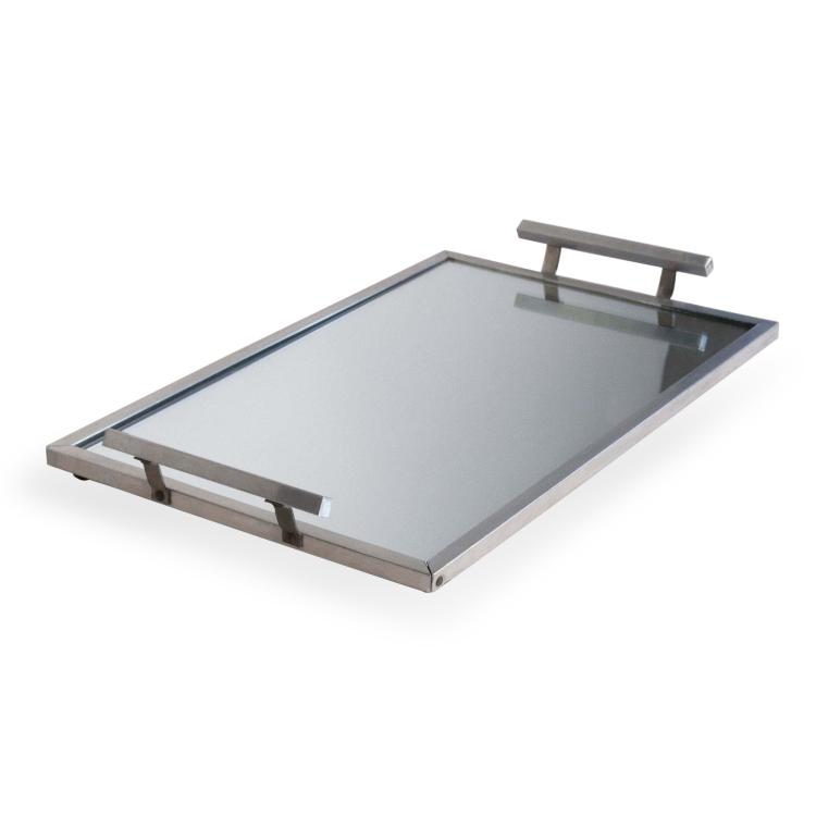 French 1930s Mirrored Serving Tray