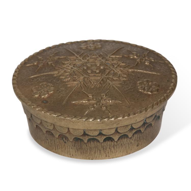 Max Le Verrier Lidded Bronze Dish