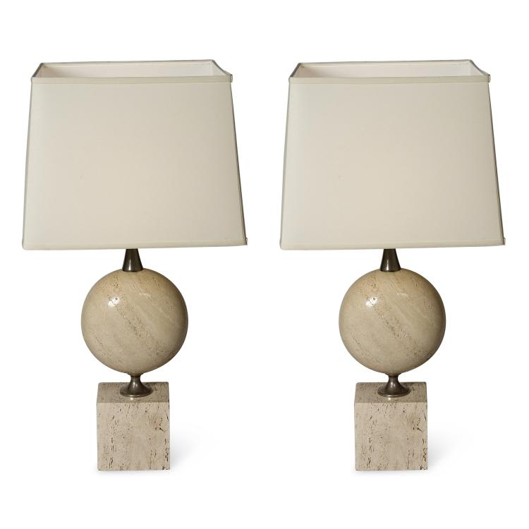 Pair of Maison Barbier Table Lamps