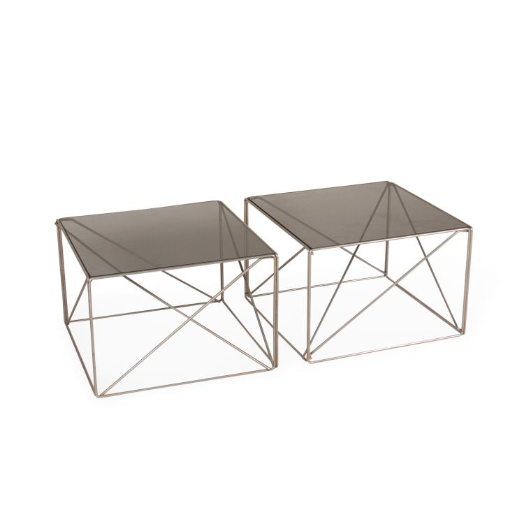 Pair of Max Sauze Tables