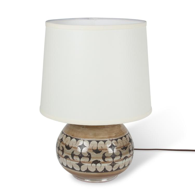 Ceramic Table Lamp by Moreau Tourette, French 1960s