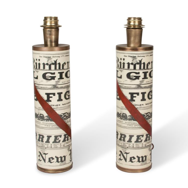 Pair of Fornasetti