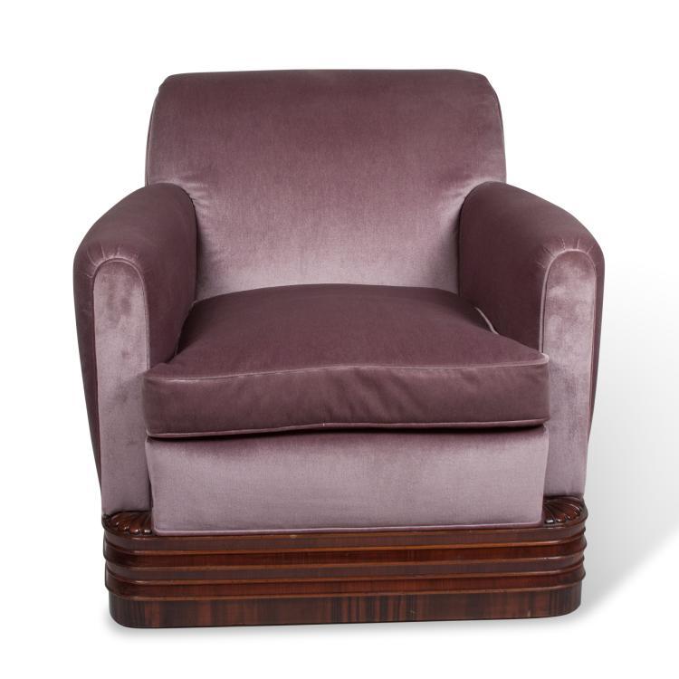 Early Eugene Schoen Armchair, American c. 1928