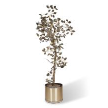 Brass Tree Sculpture by C. Jere for Artisan House