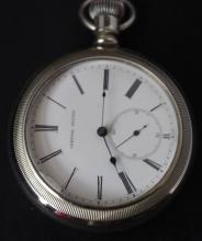 Pacific RailRoad Pocket Watch