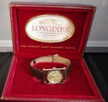 14 k Mens Longines Watch