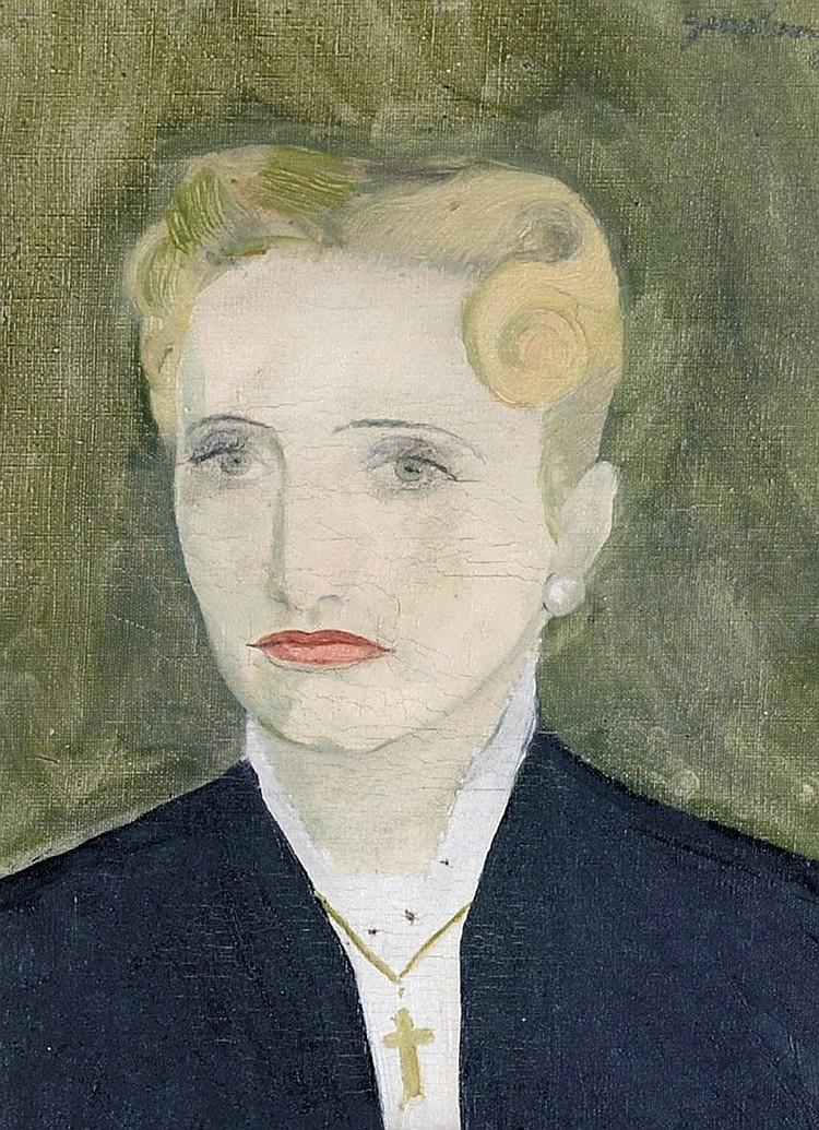 Serge GAINSBOURG, portrait, huile sur toile