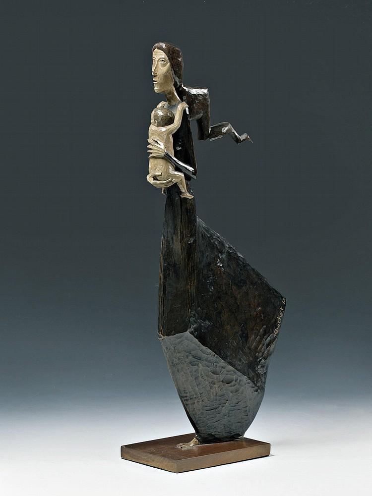sculpture en bois de Brochet