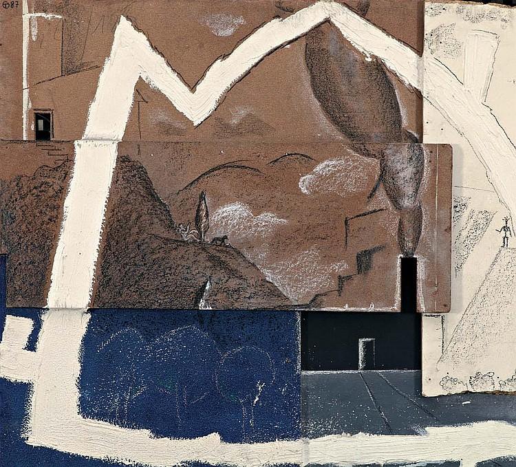 Olivier THOMÉ (NÉ EN 1949) Extra Muros, 1986.
