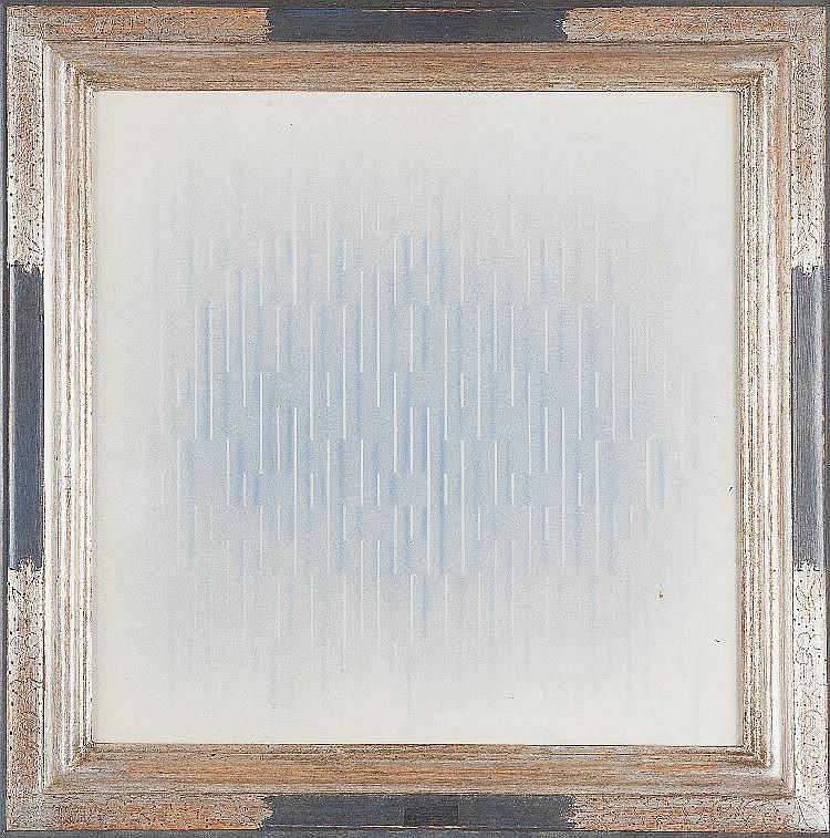 Ivan CONTRERAS BRUNET (né en 1927) Composition abstraite  Aquarel
