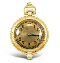 Antique, Gold Filled Lady's Pendant Watch
