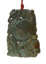 Carved Jade Talisman, H. 2/34