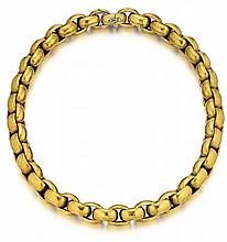 Paloma Picasso, Tiffany & Co., 18kt Yellow Gold Cable Link Necklace