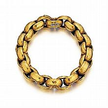 Paloma Picasso, Tiffany & Co. 18kt Yellow Gold Lady's Bracelet, L.8