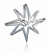 Tiffany & Co., Sterling Silver, Paloma Picasso Lady's Brooch