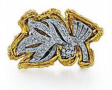 14kt Gold and Diamond Lady's Pin