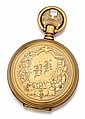 American Waltham, 14kt Yellow Gold, Hunter Case Pocket Watch