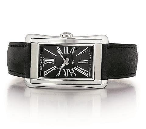 Bedat Stainless Steel No. 7 Gentleman's Tank Wrist Watch