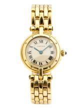 Cartier, 18kt Yellow Gold Lady's Wrist Watch