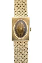 Baume & Mercier, 14kt Yellow Gold Wrist Watch, L. 7 3/4