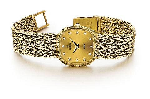 Concord 14kt Yellow Gold Lady's Wrist Watch