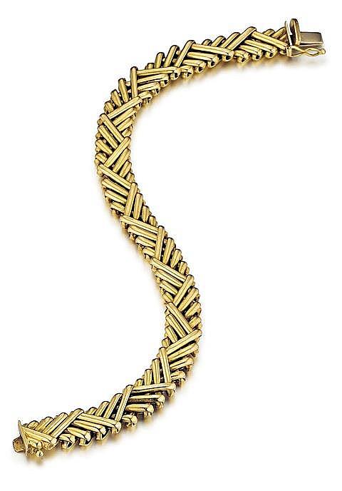 Italian 18kt Yellow Gold Lady's Bracelet