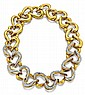 18kt Yellow Gold and Diamond Lady's Necklace