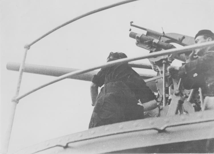Fotógrafo desconocido (XX) Mallorca, armada gubernamental, 25 de agosto de 1936