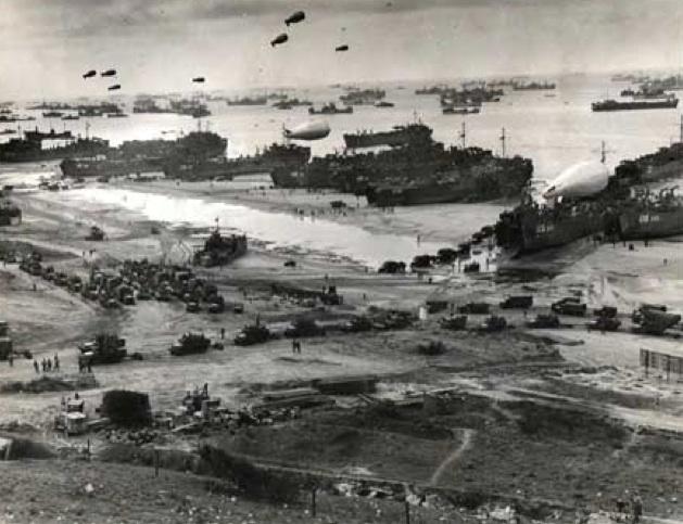 Official Coast Guard Photo (XX) Desembarco en Normandía, dia D, 1944